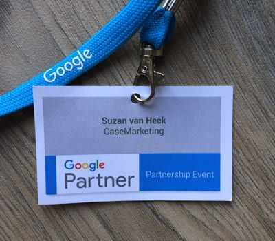 CaseMarketing Badge Google Partners Event
